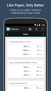 FitNotes - Gym Workout Log for pc