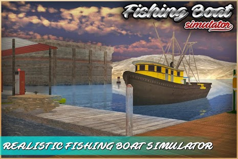 Fishing Boat Simulator 3D - screenshot