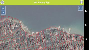 Screenshot of Montana Parcel App