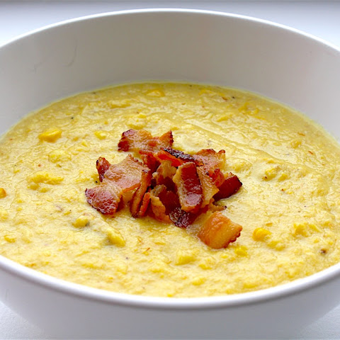 3 Ingredient Corn and Bacon Chowder