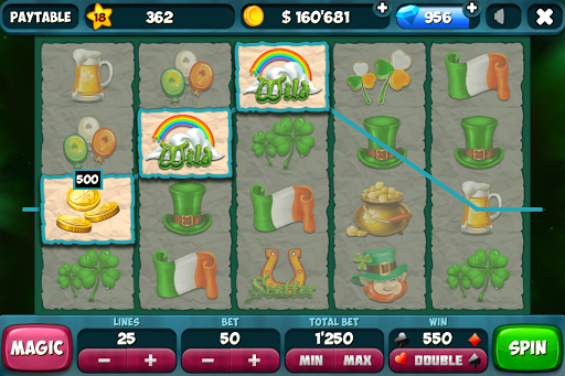 Slots - St.Patrick VIP - screenshot