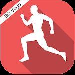 30 Day Cardio Exercise workout Icon