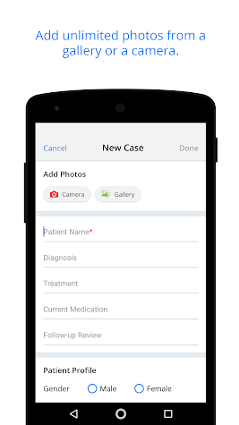 Doctor App CureCast: EMR Simplified Screenshot