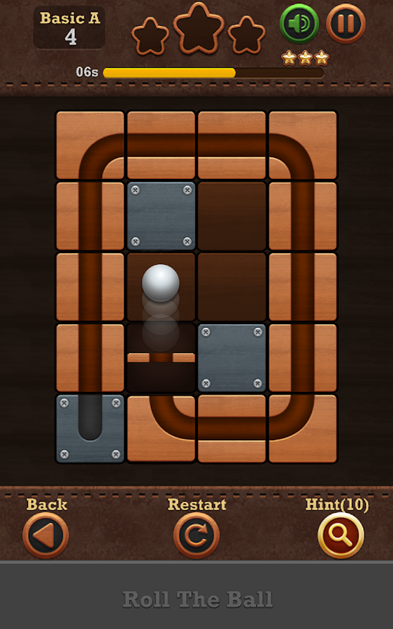 Roll the Ball™: slide puzzle 2 Screenshot 1