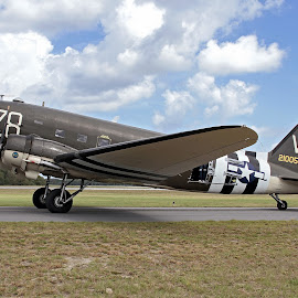 C-47 Dakota by Jim Baker - Transportation Airplanes