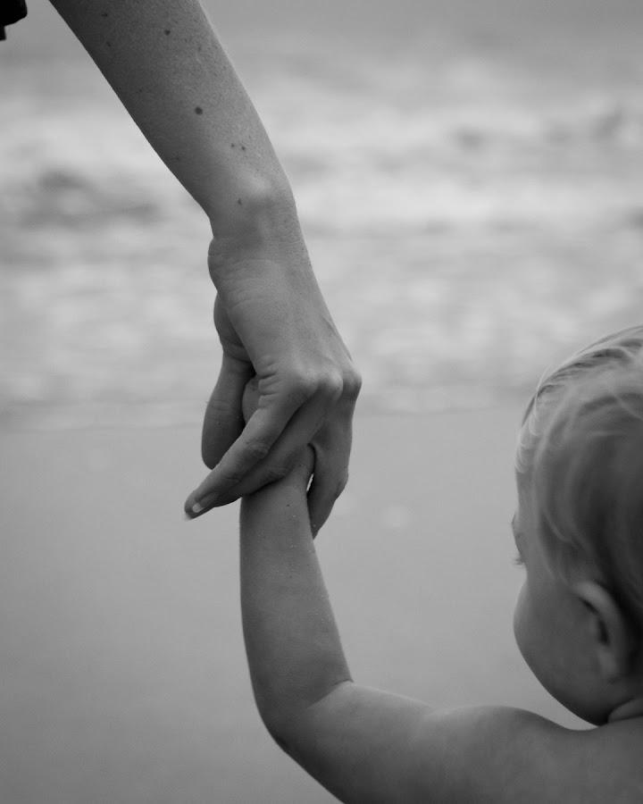 Holding Momma's Hand by Jon-David Everhart - Babies & Children Hands & Feet