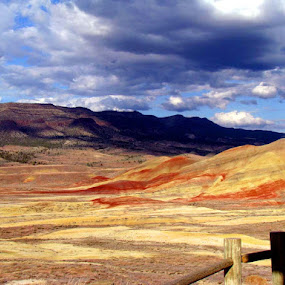 Painted hills by Aritri Rhea - Landscapes Mountains & Hills