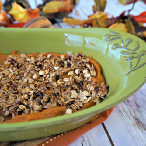 Healthified Sweet Potato Casserole (Gluten-Free & Vegan)