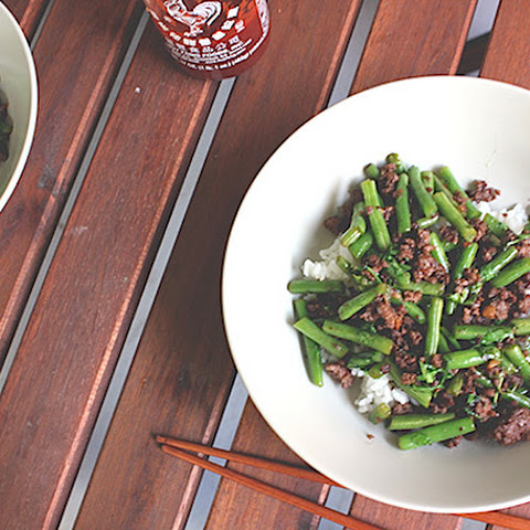 Vietnamese Lamb Stir-Fry with Green Beans