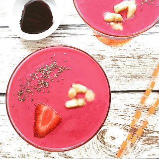 Strawberry Beet Smoothies