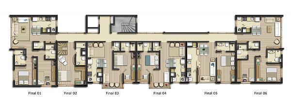 Apartamento com 1 dormitório, sendo este 1 suíte, living 2 ambientes, cozinha, área de serviço, churrasqueira, lavabo e 1 vaga de garagem. Contate hoje mesmo um de nosso consultores.