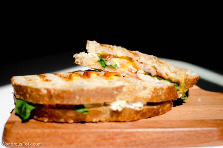 Bacon Ranch Chicken Panini Recipe | Yummly