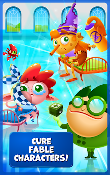 Fable Clinic - Match 3 Puzzler APK screenshot thumbnail 2