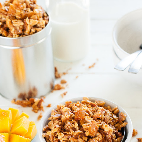 Paleo Honey Roasted Tropical Granola