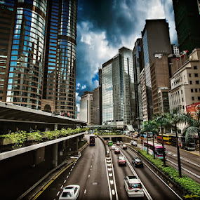 One Way by Giovanni MIrabueno - City,  Street & Park  Vistas