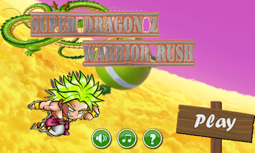 Super Dragon Z Warrior Rush - screenshot