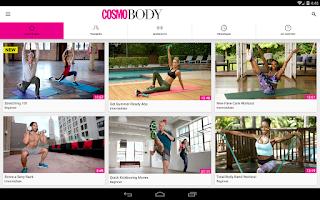 Screenshot of CosmoBody