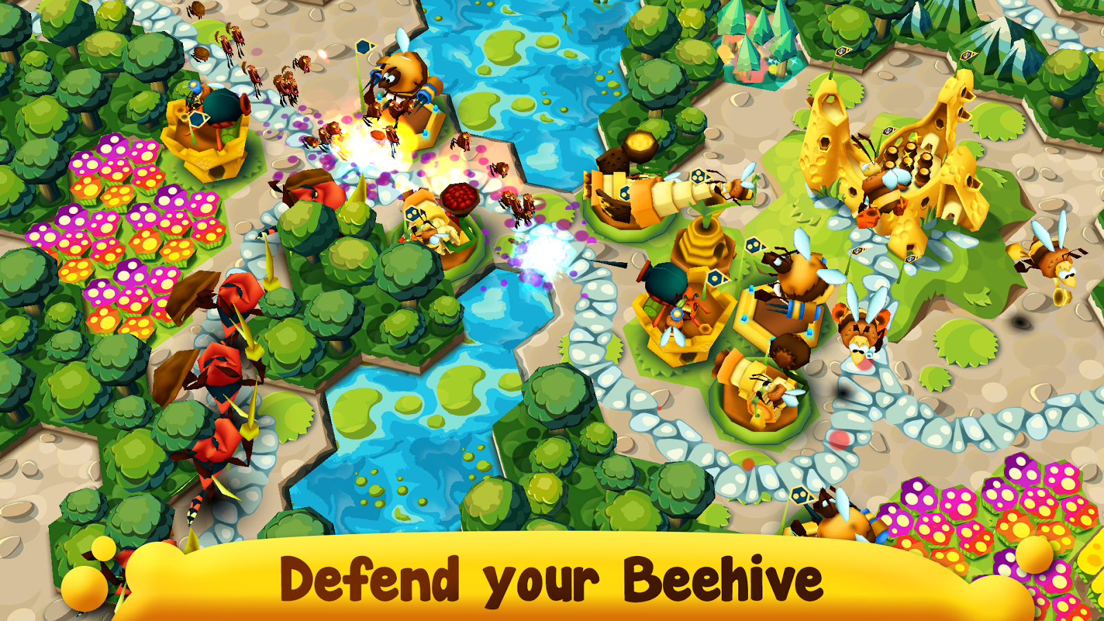 BeeFense - Fortress Defense Screenshot 0