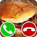 fake call burger APK for Bluestacks