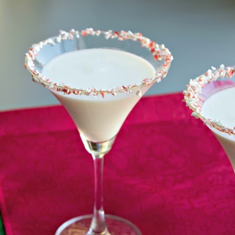 White Chocolate Peppermint Mocktini