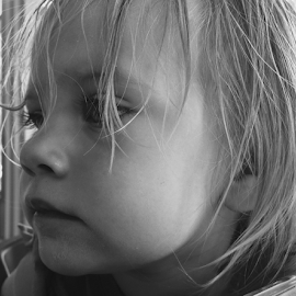 Curious by Liz Stonich - Babies & Children Toddlers ( black and white )