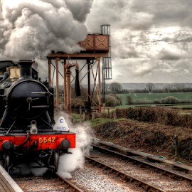 GWR - 5542 by Parker Lord - Transportation Trains ( railway, engine, lord parker photography, locomotive, steam train, train, steam )
