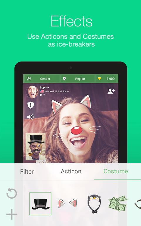 Azar-Video Chat&Call,Messenger Screenshot 9