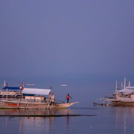 Pink Moon by Geoffrey Wols - Transportation Boats ( philippines,  )
