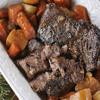 MThe Perfect Slow Cooker Pot Roast