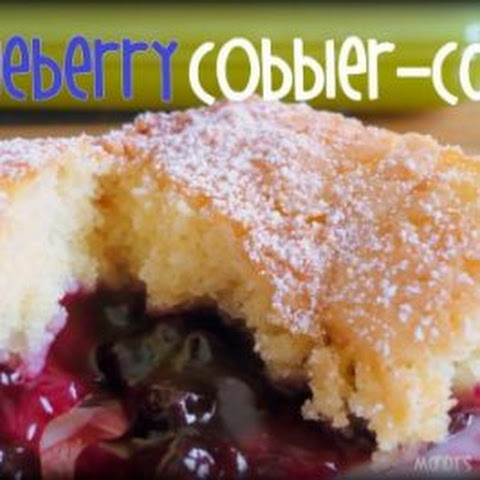 Blueberry Cobbler Cake