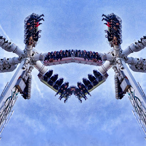 Double Trouble by Stephanie Moore - Public Holidays Christmas ( hyde park, london, winter wonderland, christmas, high )