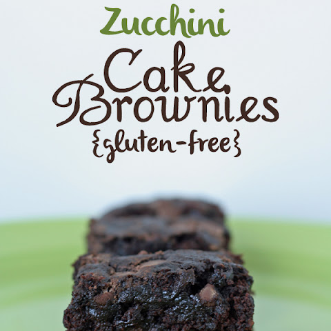 Double Chocolate Zucchini Cake Brownies {Gluten-free, Dairy-free, Egg-free}