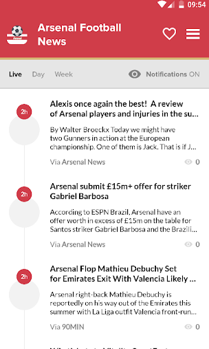 Arsenal Football: Arsenal News APK