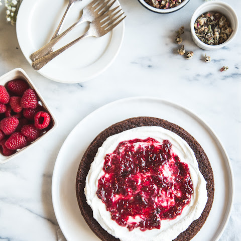Gluten-Free Olive Oil Chocolate Cake