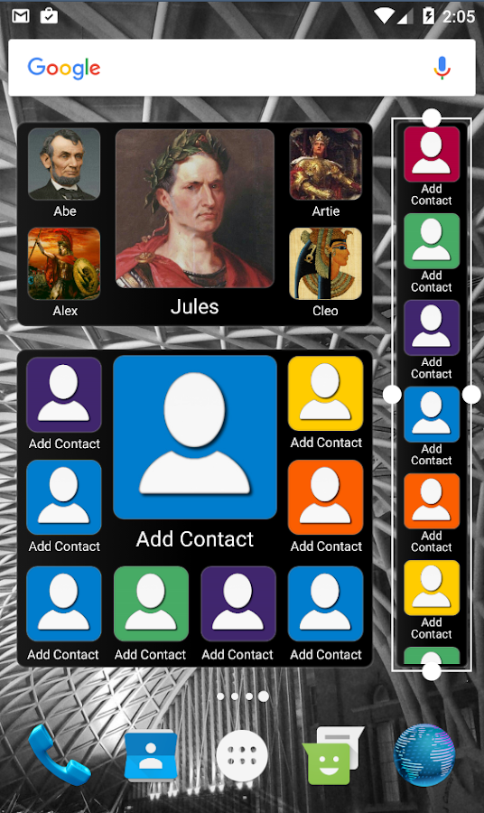 Mad Contacts Widget Screenshot 3