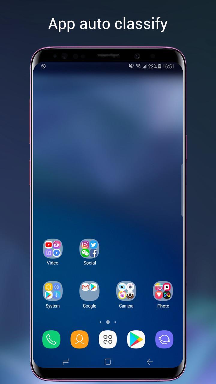 Super S9 Launcher for Galaxy S9/S8 launcher Screenshot 2