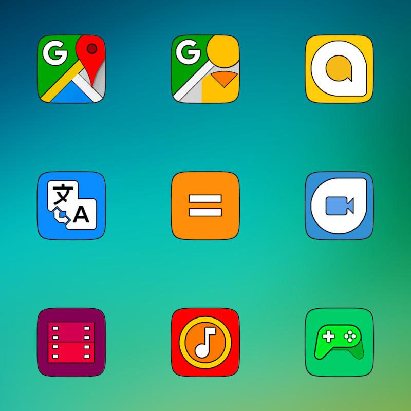 MIUI CARBON - ICON PACK Screenshot 5