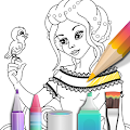Game Princess coloring book apk for kindle fire