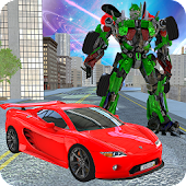 Super Monster Car Robot Transform