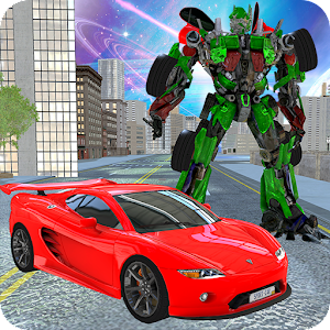 Download Super Monster Car Robot Transform for PC