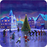 Christmas Rink Live Wallpaper 2.7 Apk