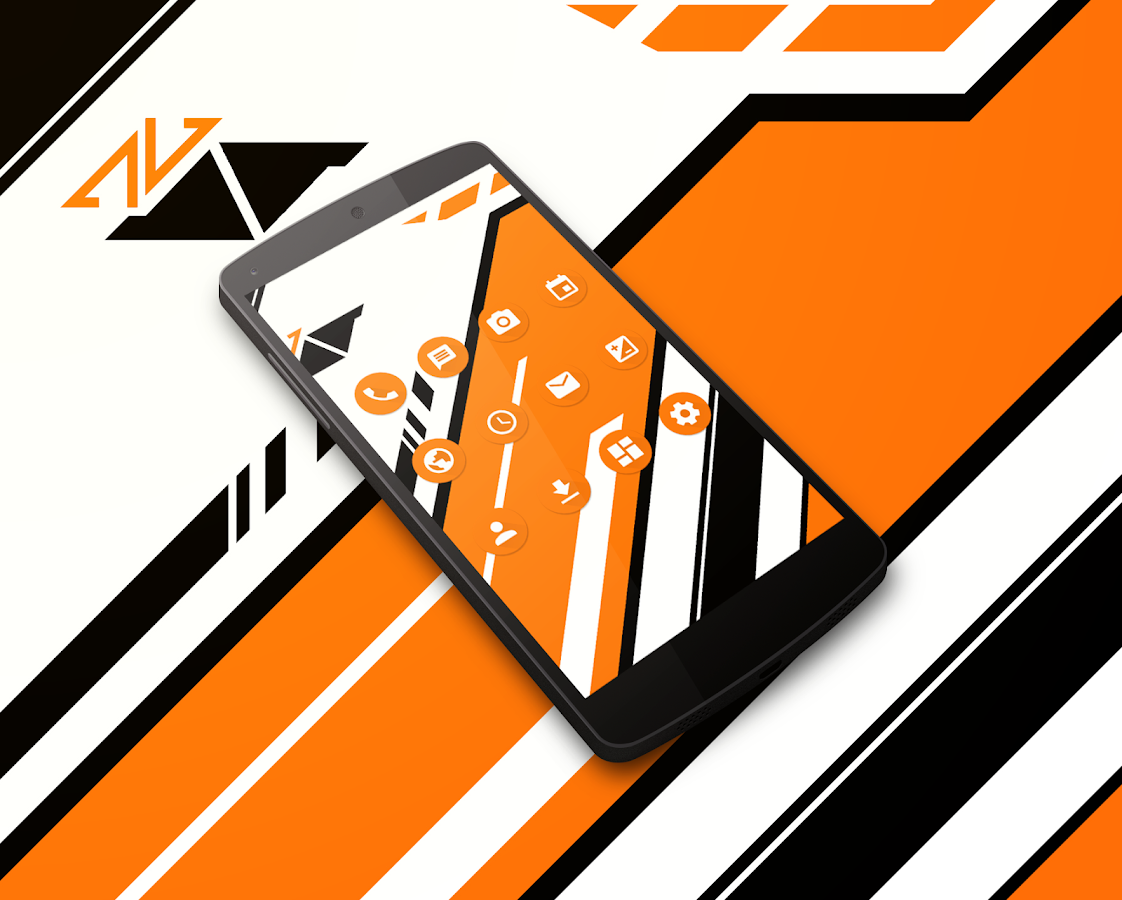 Asiimov CM13 CM12 Theme Screenshot 3