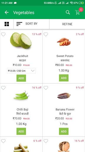 Sabjiwali - Online Sabji Shopping App screenshot 4