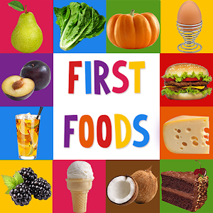 First Words for Baby: Foods