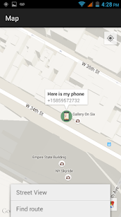 Find my phone (No internet)