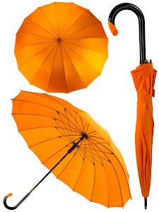 Зонт трость L, голубой