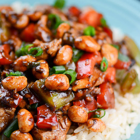 Easy Kung Pao Chicken