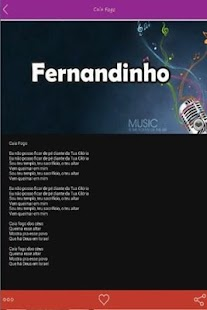 Fernandinho Letras Hits - screenshot