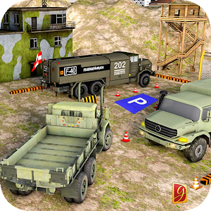 Army Truck Driving Parking Simulator Icon