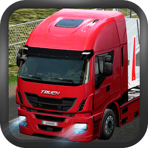 Cover art Truck Simulator 2015